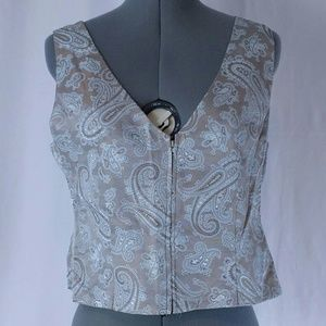 Vintage JS Collection Vest Sz14